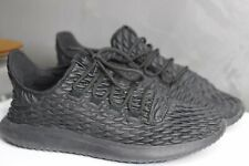 Adidas Originales Para Hombres Zapatos Negros Size UK 9 EU 43.5 no Zapato Insertar