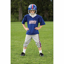 YOUTH SMALL New York Giants NFL UNIFORM SET Kids Game Day Jersey Costume Age 4-6