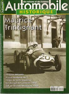AUTOMOBILE HISTORIQUE 46 LOMBARD AL3 1928 GP DE GRAND BRETAGNE 1968 TRINTIGNANT