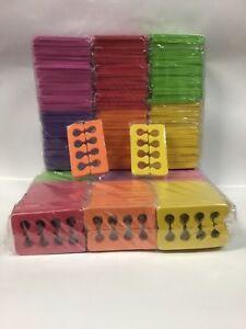 100 pairs 200 pcs disposable hard foam pedicure toe separators individual warp