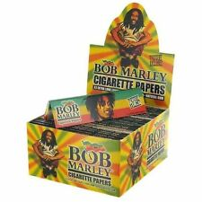 Bob Marley Kingsize Rolling Papers Full Box Of 50 - King Size Hemp Rolling Paper