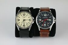 Torgoen Swiss GMT Watches - Lot of 2 - T9 and T25 - 42mm