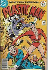 Plastic Man # 16  FN Ramona Fradon Woozy Winks World's Wierdest Hero  1977 DC