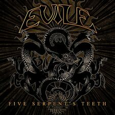 "Evile ""Five Serpent's Teeth"" CD - NEW!"