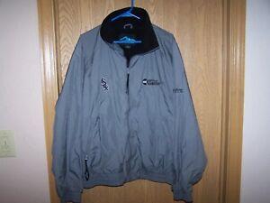 CHICAGO WHITE SOX  Staff GAMEDAY  Tri-Mountain 1/4 ZIP  Jacket Coat - XL