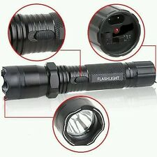 NEW 60 million VOLT TORCH POLICE FLASHLIGHT LED  STUN ELECTRIC SHOCKER GUN