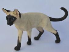 Siam Katze Figur Siamese Siamesische Cat - handbemalt - Katzenliebhaber - Büste