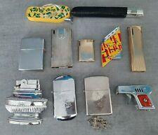 Lot 11 briquet décoratif tongue pistolet texas soupiére non testé