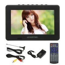 "7"" TFT Mini Portable ATSC Digital Analog DVD TV Video Player 800x600 USB/TF Q6P8"