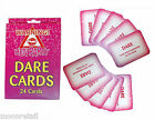 24 Hen Do Girls Party DARE CARDS Night Out Pink Accessories Novelty Game