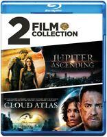 Jupiter Ascending/Cloud Atlas [New Blu-ray] 2 Pack