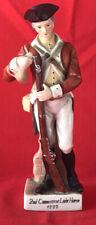 "Andrea By Sadek. ""2nd Connecticut Light Horse�. Porcelain Soldier. 1777. 8.5�"