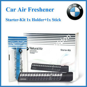BMW Genuine Air Freshener Natural Air Starter Kit+1 Fragrance stick 83122285673