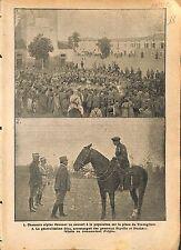 Chasseurs Alpins Concert de Musique Place de Travagliste 1912 ILLUSTRATION