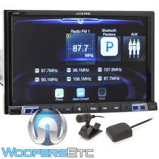 "ALPINE X208U 8"" DIGITAL MEDIA TOUCHSCREEN GPS NAVIGATION BLUETOOTH HD RADIO NEW"