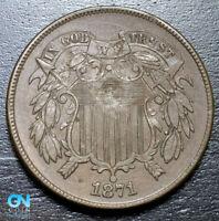 1871 2 Cent Piece  --  MAKE US AN OFFER!  #B3240