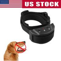 USA Anti Bark No Barking Remote Electric Shock Vibration Dog Pet Training Collar