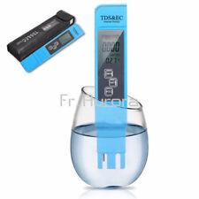 Blue EC-1  Water Quality Test Meter Digital Tool TDS&EC Temperature 0-9990 ppm