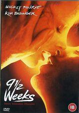 9 1/2 weeks - Kim Basinger, Mickey Rourke New Sealed  DVD