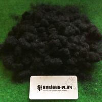 Serious-Play Black Static Grass 2mm -Model Scenery Warhammer Railway wasteland