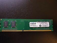 Crucial 2GB (1-Stick) PC3-12800 DDR3-1600 UDIMM Memory RAM CT51264BA160BJ.M4FED