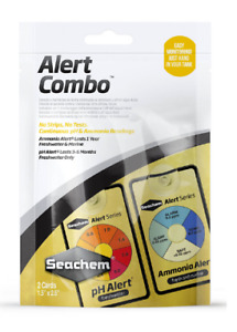 Seachem Alert Combo PH Ammonia Monitor Reading Pack Aquarium Fish