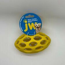 Jw Pet Hol-ee Football Dog Toy Chew Plastic