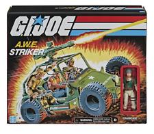 "G.I. Joe Retro Collection: A.W.E. Striker Vehicle with 3.75"" Crankcase NEW"