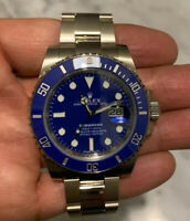 Rolex Submariner Smurf Date 40mm White Gold 116619LB