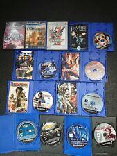 Lote 12 Videojuegos Incompletos - Juegos CD DVD Cajas Sony Playstation 2 / PS2