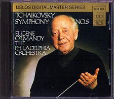 Eugene ORMANDY: TCHAIKOVSKY Symphony No.5 DELOS 1981 Japan CD Philadelphia