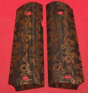 Colt Firearms Full Size 1911 Grips Dragon Pattern