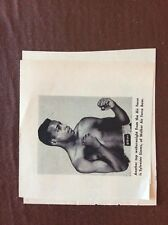 K1b Ephemera 1950s Picture Boxer Sylvester Simms Walker Air Force Base