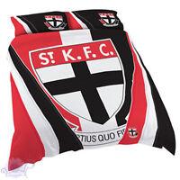 St Kilda Saints Quilt | Doona Cover Set | AFL Aussie Rules | Football | King