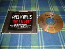 GNR Guns N Roses Ain't It Fun promotional cd