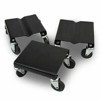 1500 LBS Snowmobile Roller Set 3 PCs Dolly Storage Dollies Mover Snow Mobile New