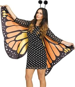 Kids Butterfly Costume ANY BUTTERFLY   SIZE Felt Monarch Butterfly Outfit Halloween Red Admiral Butterfly Wings Adult Butterfly Costume