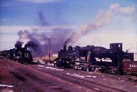 Duplicate Slide Denver & Rio Grande Western Railroad DRG&W 498 Steam Engine