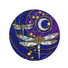 Mandala Sticker Dragonfly Moon