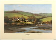 "Peter symonds ""kingsbridge estuary"" devon signé ltd ed taille: 42cm x 59cm neuf"
