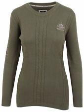 L' ARGENTINA Damen Pullover Sweater Größe M 38 Rundhals Baumwolle & Kaschmir NEU