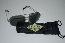 Salitos Sonnenbrille mit Etui -  Salitos Pilotenbrille - UV 400 - TOP +++++