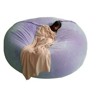 Big Giant Bean Bag Cover Removable Washable Bed Comfortable Lazy Sofa Coat