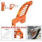1Set Rear Brake Disc Guard Cover+Pedal Step+Gear Shifter Lever Tips For  EXC