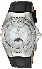 TechnoMarine Mother of Pearl Moon Phase Women's Eva Longoria Watch TM-416019