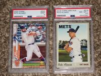 Pete Alonso RC Lot 2019 2020 Topps Cup Heritage Rookie Card PSA 8 8.5 9 MINT