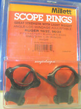Millett Ruger 10/22 1inch High Blue Scope Rings.