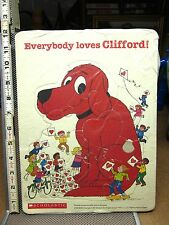 CLIFFORD frame tray puzzle 1991 Big Red Dog Scholastic Norman Bridwell