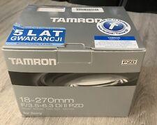 Tamron AF 18-270mm F/3.5-6.3 Di II PZD Macro Zoom Lens for Sony DSLR Cameras