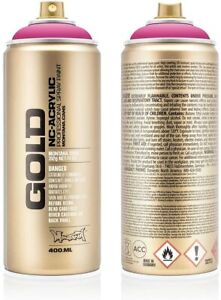 Montana Gold NC-Acrylic Spray Paint Can 400ml - Montana Professional Spray Paint